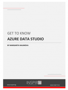 FREE E-book: GET TO KNOW AZURE DATA STUDIO